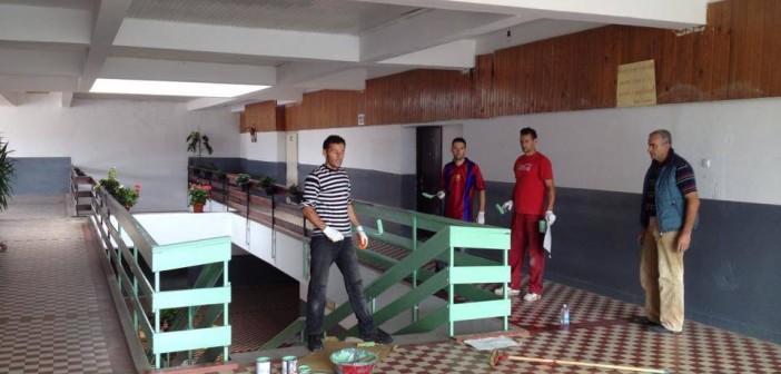 Foto lajm: Pamja e shkollës ndryshon vazhdimisht