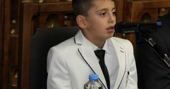Kristal Baftijari-vetëm 9 vjeçar, promovoi librin e tij të dytë