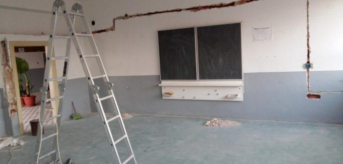 Revitalizohet  komplet objekti i shkollës së Smirës