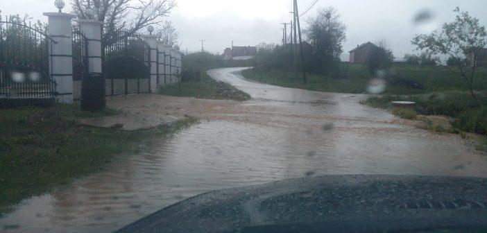Rrebeshe shiu e dëme në Smirë (Video)